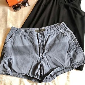 Blue Abercrombie & Fitch shorts